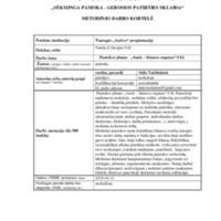 """Metodinio darbo kortelė """"Ausis garso imtuvas"""".pdf"""