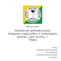 """Netradicinė apibendrinamoji integruota anglų k. ir technologijų pamoka """"Apie maistą"""".pdf"""