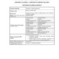 """Metodinio darbo kortelė Integruota rusų k., muzikos ir dailės pamoka ,,M. K. Čiurlionis muzikoje ir dailėje"""".pdf"""