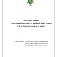 """Integruota rusų k., muzikos ir dailės pamoka ,,M. K. Čiurlionis muzikoje ir dailėje"""".pdf"""