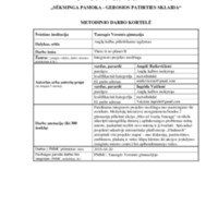 """Metodinio darbo kortelė Integruotas anglų kalbos ir pilietiškumo ugdymo projektas """"There is no planet B"""".pdf"""