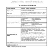 """Metodinio darbo kortelė """"Velykų ženklai ir simboliai""""..pdf"""
